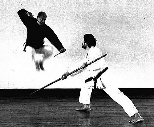 Richard was tall and nicknamed  daddy long legs.  Richard did sports experiments including studying the physics of martial arts breaking techniques. & Martial Arts: People