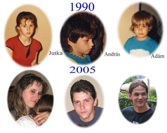 Our Cousins In Budapest 1990 And 2005